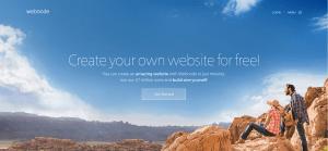 Webnode website builder