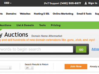 godaddy_auction_house_homepage