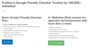 Fruition google penalty chechker tool