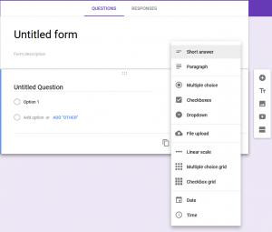 Google form 2