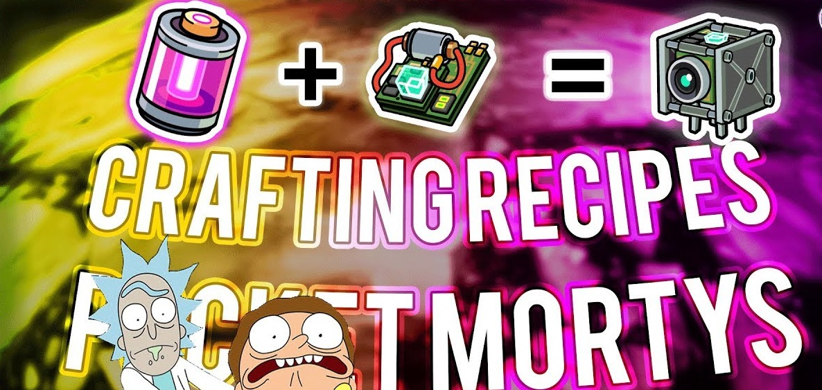 Best pocket morty cheats and crafting recipes bloggdesk for Rick and morty craft list