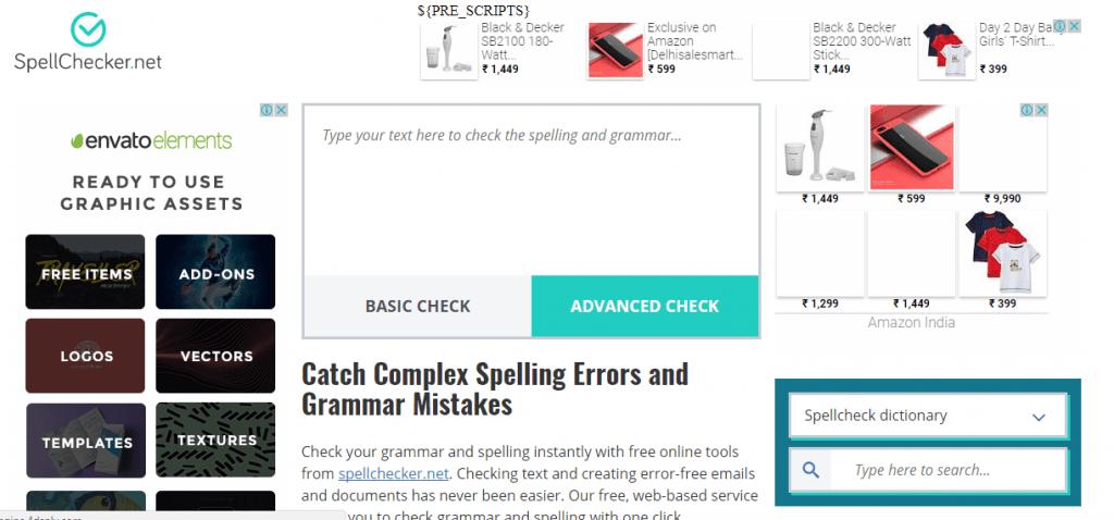 Spellchecker.net