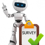 Survey chat bot
