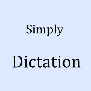 simply dictation