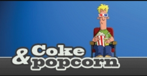 Coke & pop corn