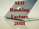 SEO Ranking Factors 2018