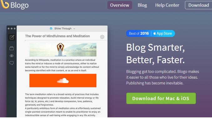 Blogo for MAc