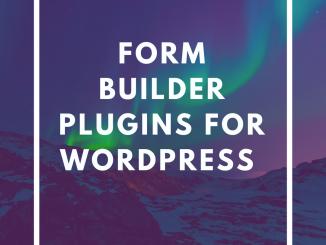 Form Builder Plugins for WordPress
