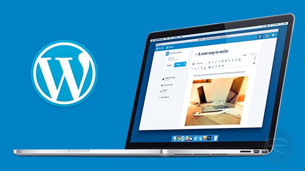 WordPress app for Mac