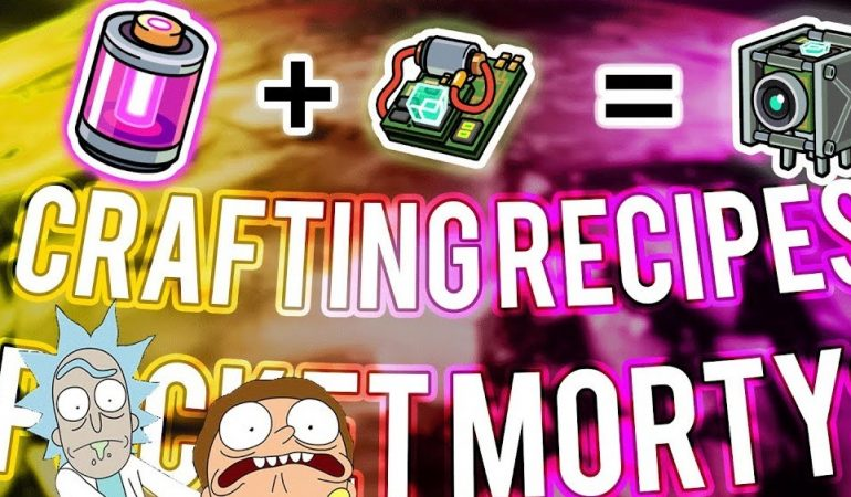 best pocket morty cheats and crafting recipes bloggdesk