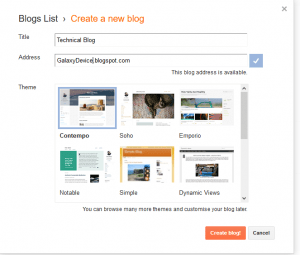 How to Create a Free Blog On the BlogSpot Blogging Platform?