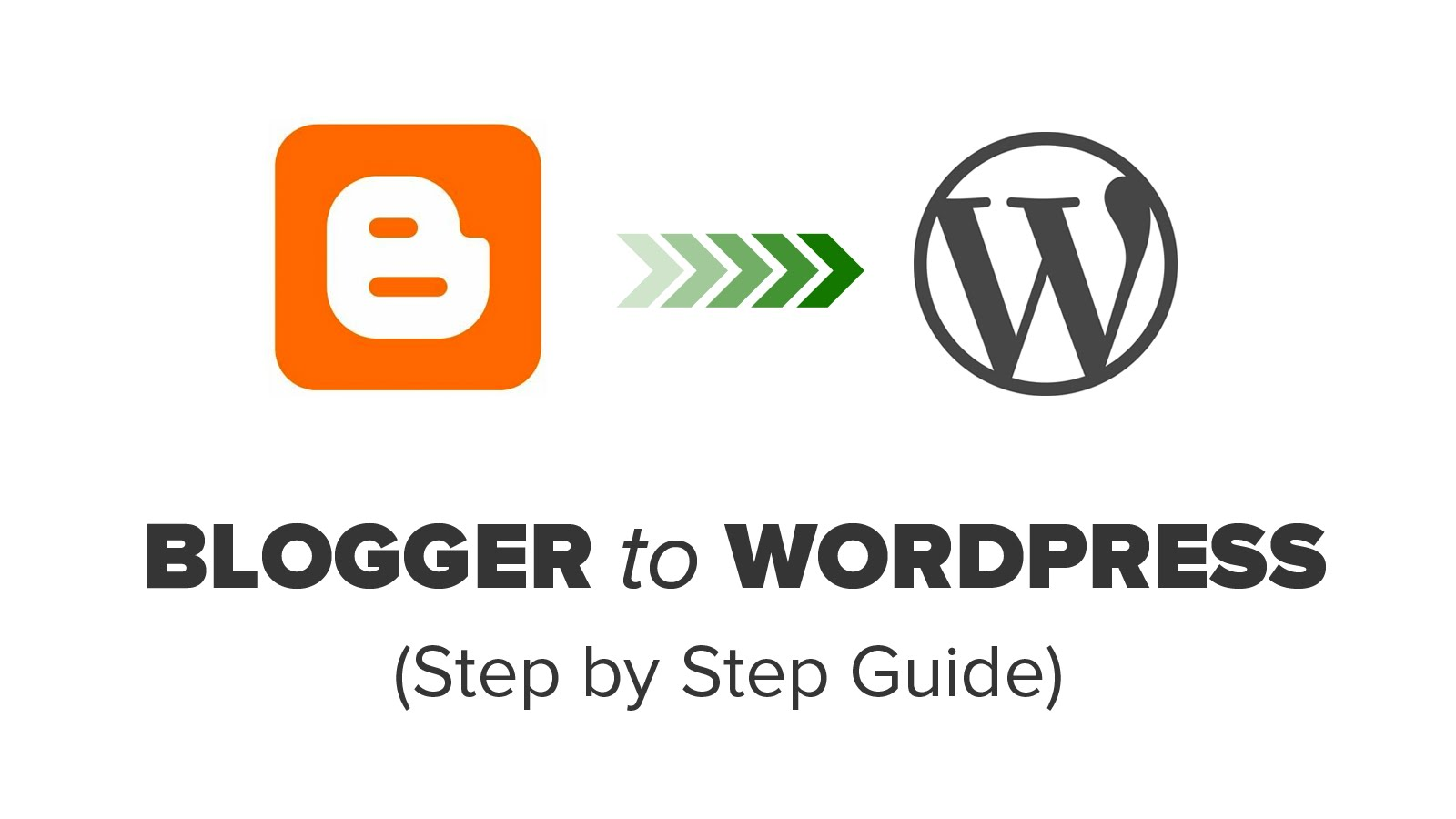 How to Switch from Blogger to WordPress Without Losing Google Ranking?