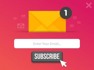 email for subscriber