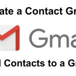 gmail contact group head image
