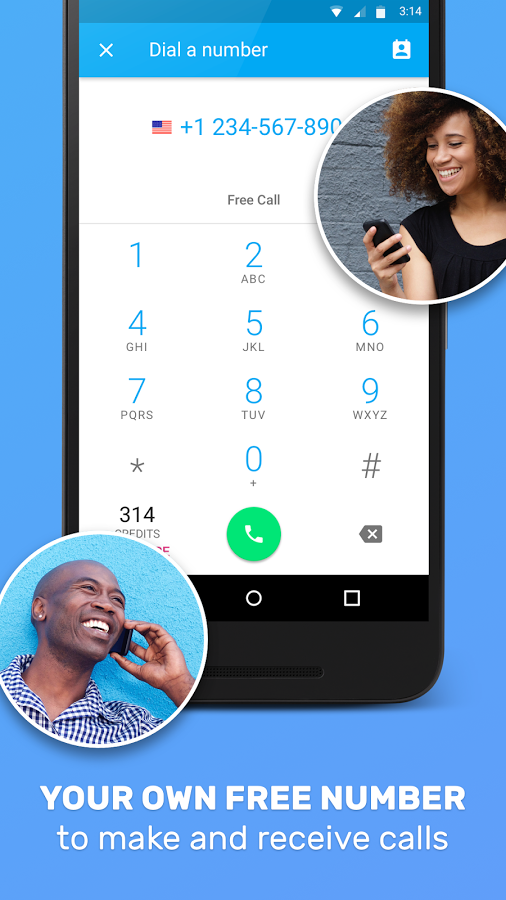 Top 5 must apps for free virtual phone number in 2018