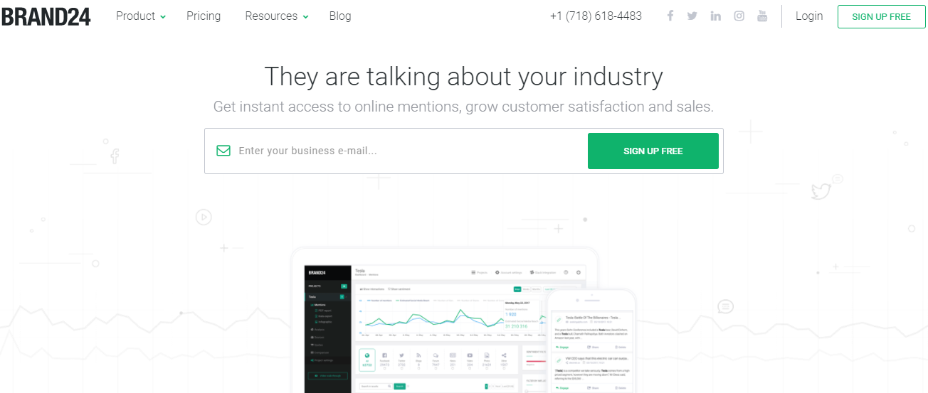 Brand24 Review – Social Media Monitoring Tool [Pricing/Reviews/Specs]