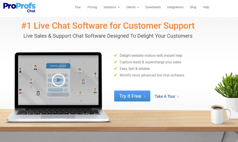 How to Improve Sales with ProProfs Live Chat Software