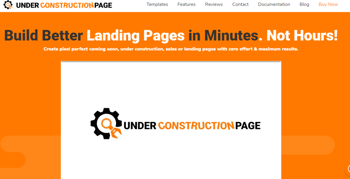 Make an under construction page in under a minute with under construction plugin