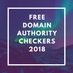 Free domain authority cherckers
