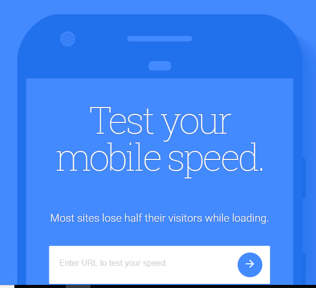 test your mobile speed