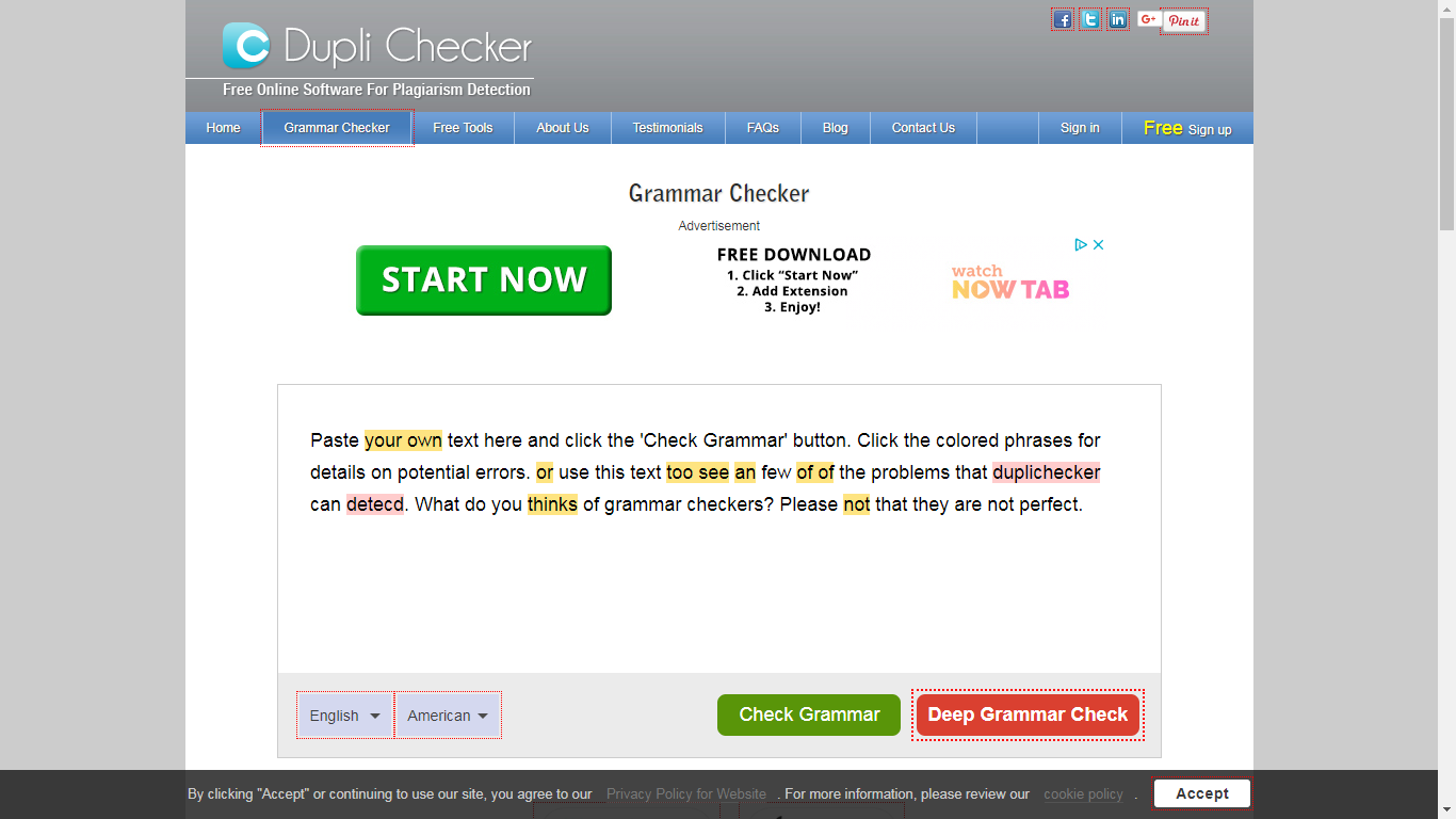 A Tool To Grammar Check Free Online