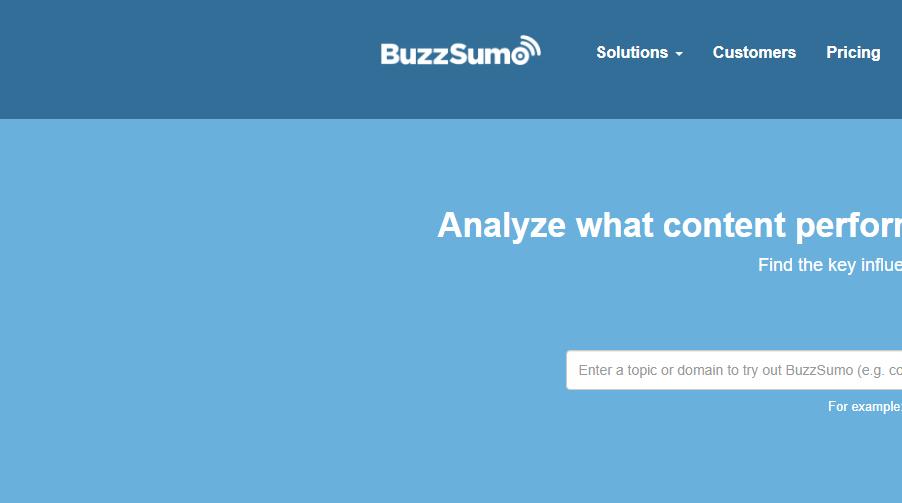 Top 9 Content Search Tools Which Are Equivalent To BuzzSumo | Buzzsumo Free Alternative
