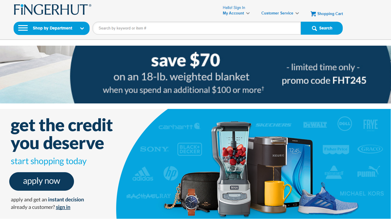 10 Sites Like Fingerhut to Buy Now Pay Later in 2021(Huge Discount)