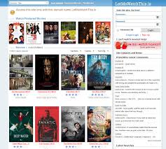 10 Similar Sites Like LetMeWatchThis  to Watch Free Movie