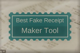 Top 10 Free Online Tools For Fake Receipt Generator | UPDATED 2020