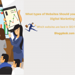 What types of Websites Should you Choose in SEO for Digital Marketing?